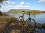 Schwinn by the river